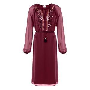 Altuzarra for Target Burgundy Dress